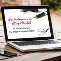 Beeindruckende Blog-Artikel – Online-Kurs