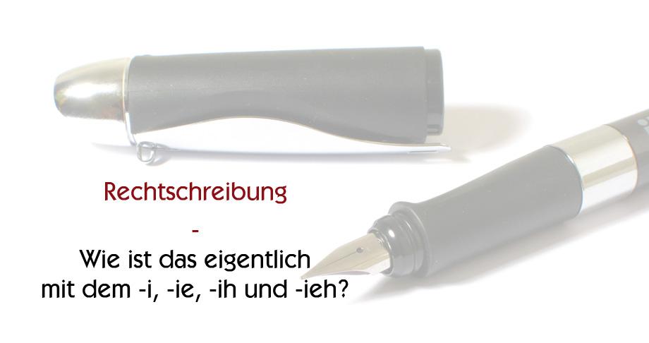 Rechtschreibung