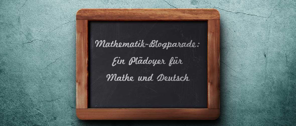 Mathematik-Blogparade