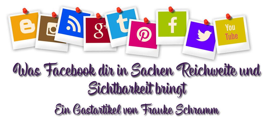Sichtbarkeit und Reichweite für deinen Blog dank Facebook