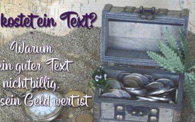 Was kostet ein Text?