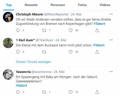 Tweets #Tatort