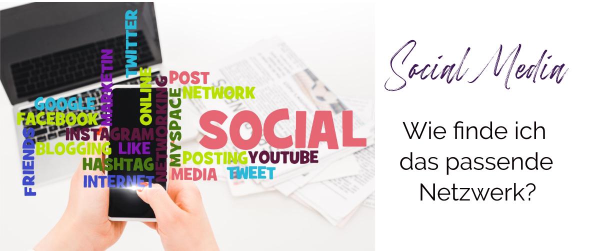 Welches soziale Netzwerk passt zu mir?